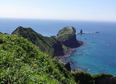 余市・積丹コース*積丹ブルーと神威岬STORY….